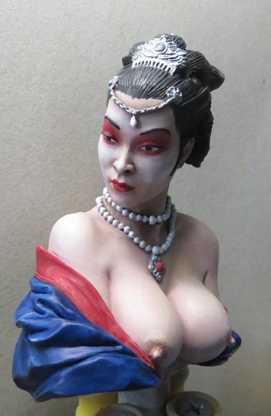 Chinesische Dame Gei210