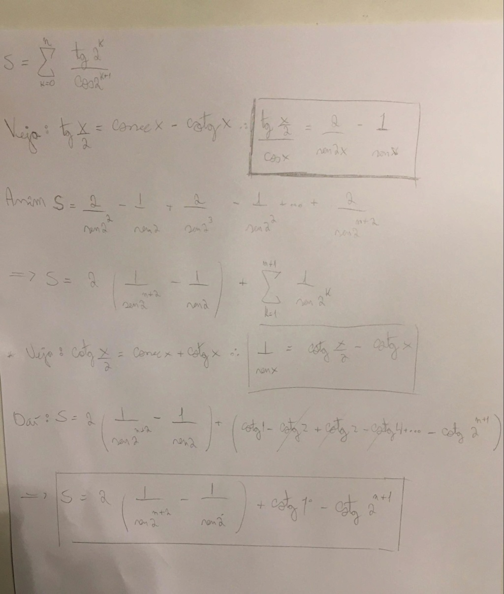 Desafio 6: Matemática-Somatório  Soma10