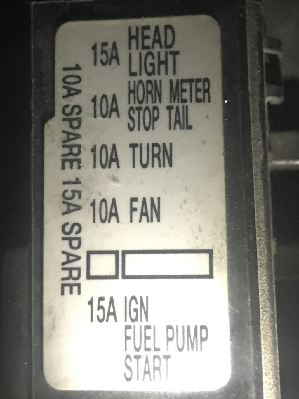 Dashboard lights off 9b0a9f10
