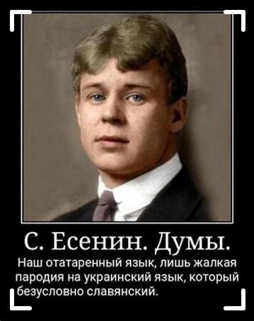 Украинский язык среди славянских - Страница 10 Esenin10