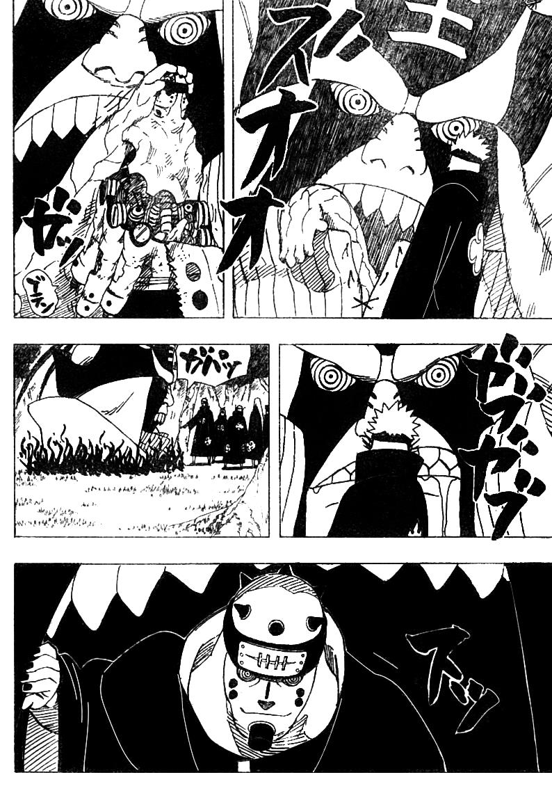 O péssimo desempenho de Pain contra Naruto 1313
