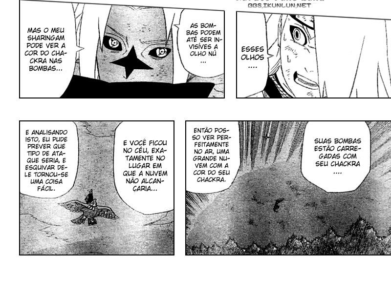 Hinata Hyuuga vs Deidara 14-110