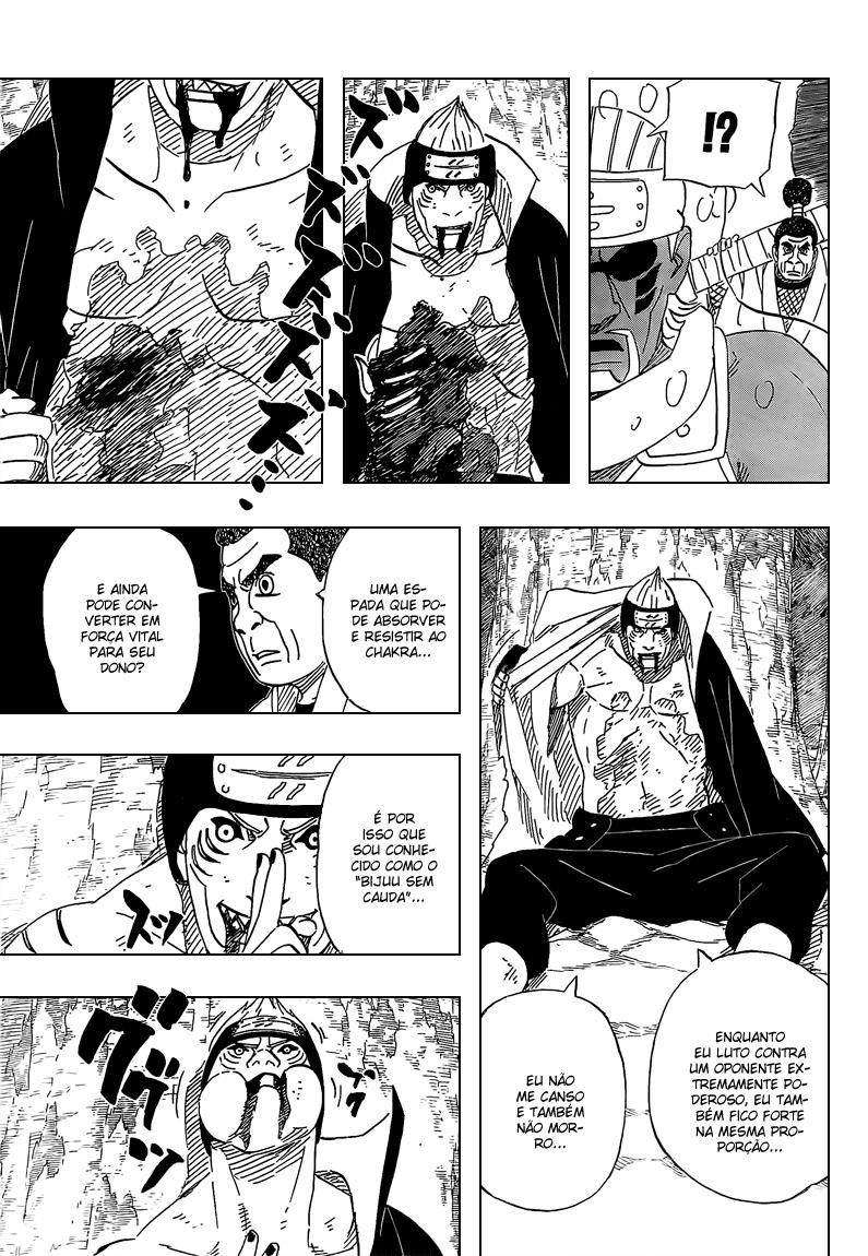 Kisame vs Hiashi, Neji e Hinata 15_111