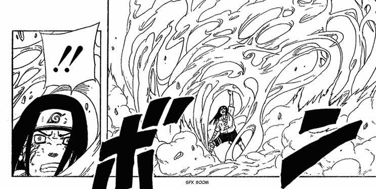Kisame vs Hiashi, Neji e Hinata 17-112