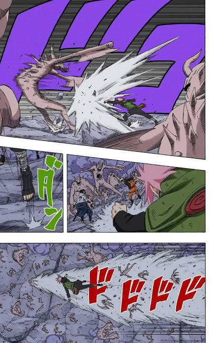 Sakura vs Darui  Images39