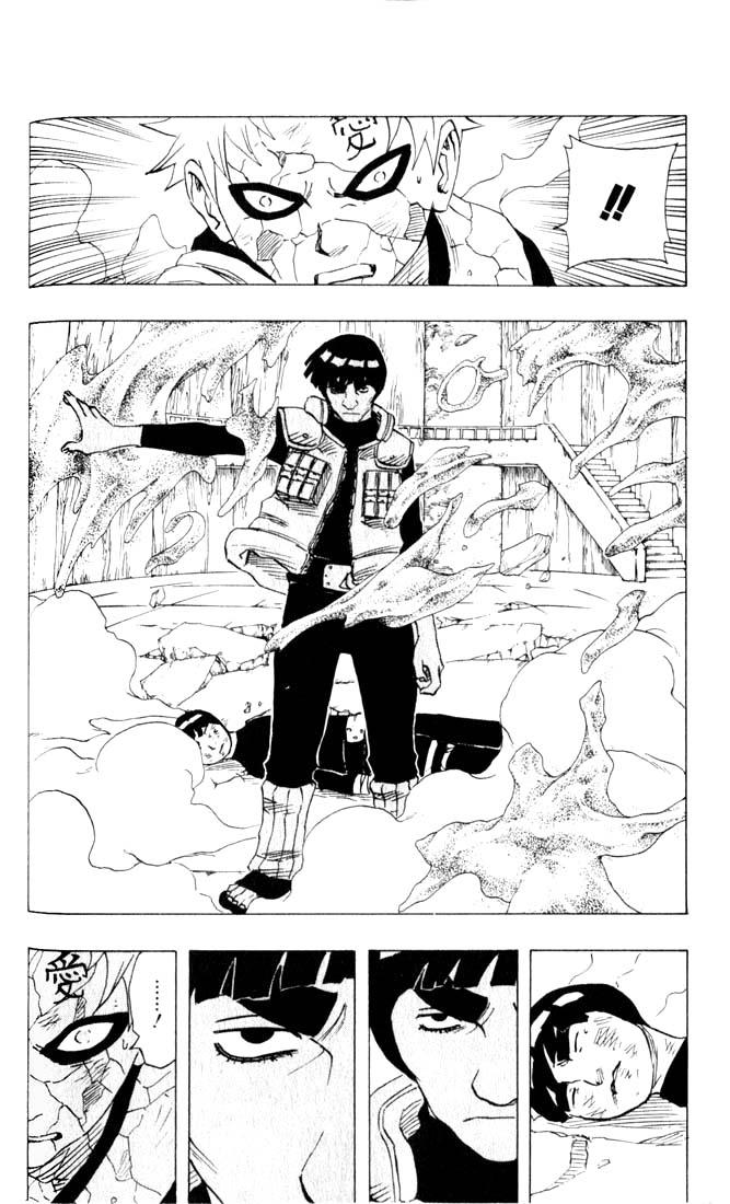 Rock Lee 5 gates tem nivel Kage por instantes? - Página 2 Naruto11