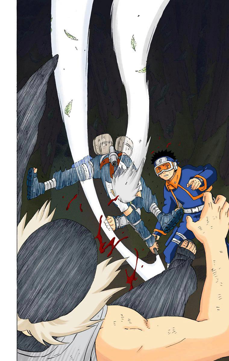 Kakashi vs. Neji Rastro10