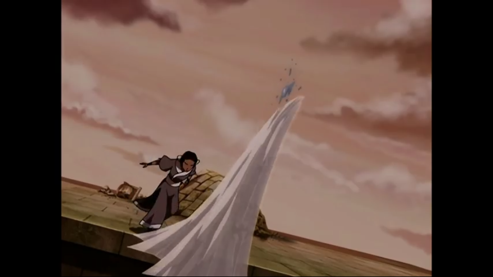 Katara vs Ming Hua Scree219