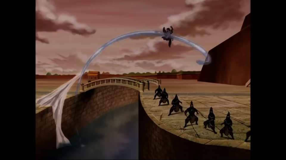 Katara vs Ming Hua Scree221