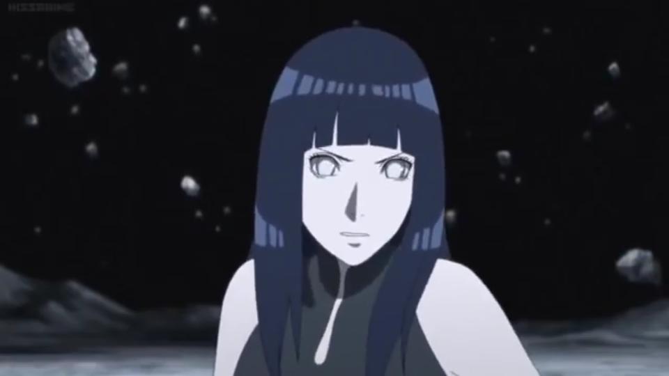 Para você qual é o auge da personagem Hinata? Scree327