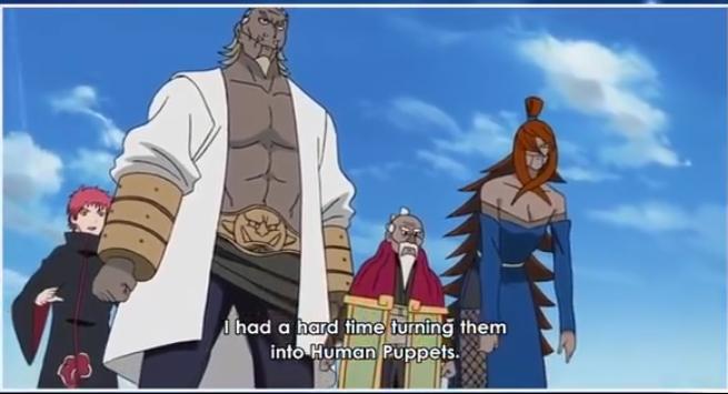 Qual seria o nível do Sasori se ele tivesse essas marionetes? Screen60