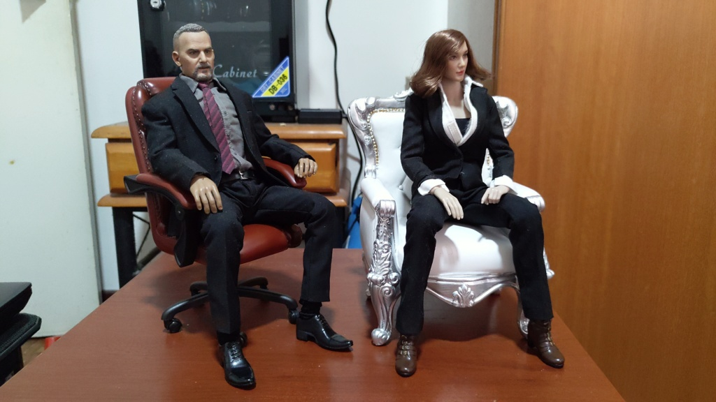 diorama - JIAOU DOLL Boss Chair - Review Yeo_2018