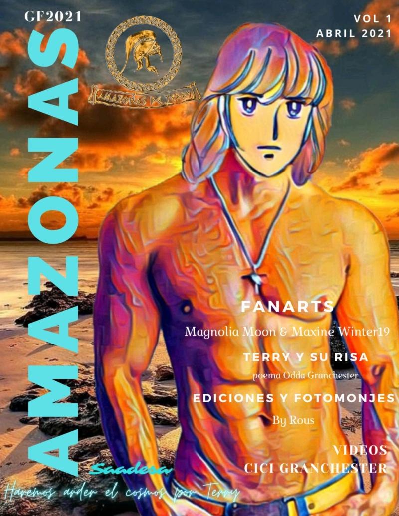 AMAZONAS DE TERRY *Magazine Amazonas Vol 1* Las Amazonas haremos arder el cosmos por Terry! 16174310