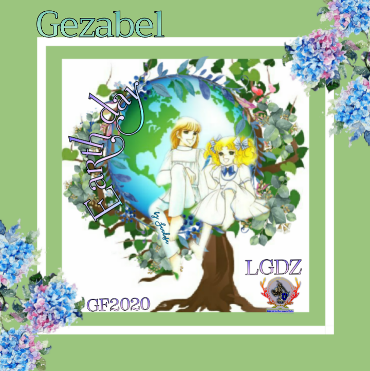 LEGENDARIAS GUERRERAS DEL ZAFIRO ☆ FIRMA regalo ☆♡♡ Earth day  C y T♡♡ Create37