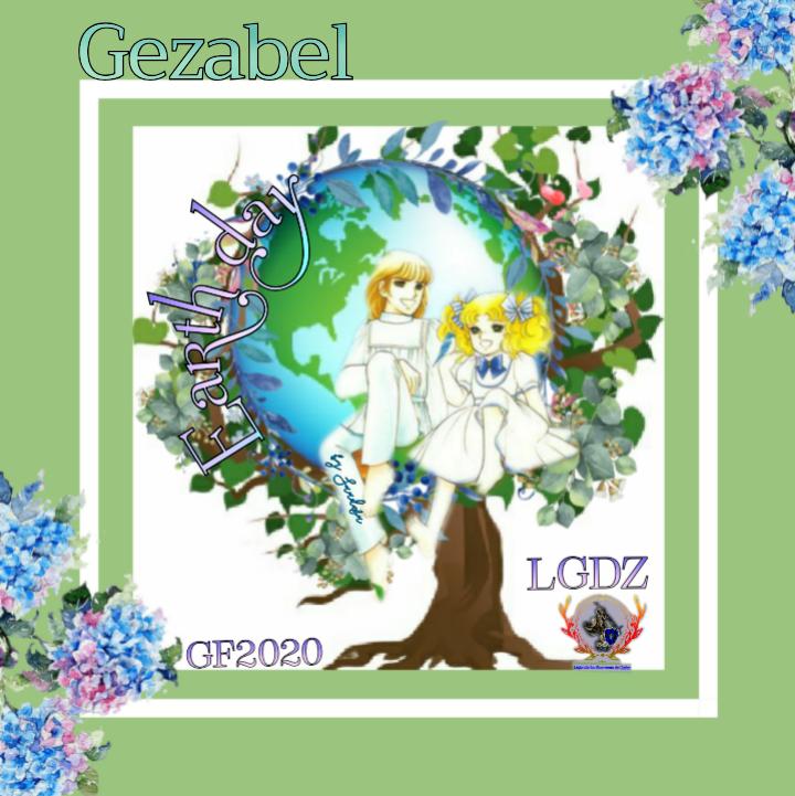 LEGENDARIAS GUERRERAS DEL ZAFIRO Desde ♡ENTREGA FIRMA ♡ ☆Candy y Terry  Earth day☆ Create38