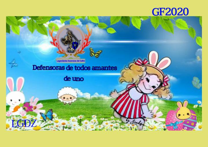 LEGENDARIAS GUERRERAS DEL ZAFIRO ☆Entrega de Firma☆ ♡CANDY PASCUA♡ Cupace20