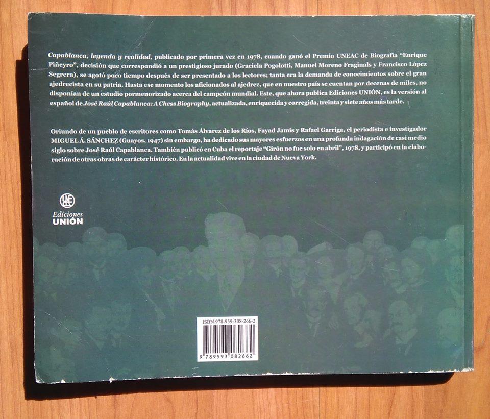 Capablanca, Leyenda y realidad - Miguel Ángel Sánchez 54520210