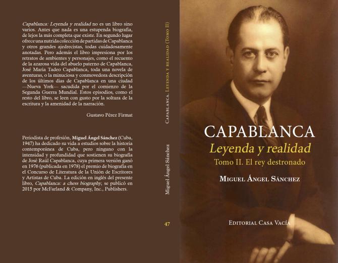 Capablanca, Leyenda y realidad - Miguel Ángel Sánchez Screen13