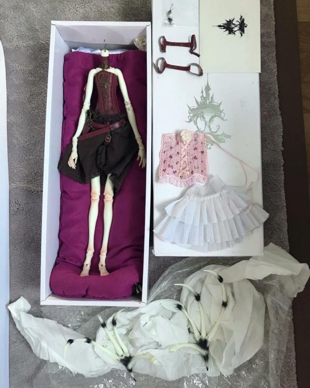 [V] Doll Chateau Iplehouse plusieurs poupées d'artiste etc. 22986110