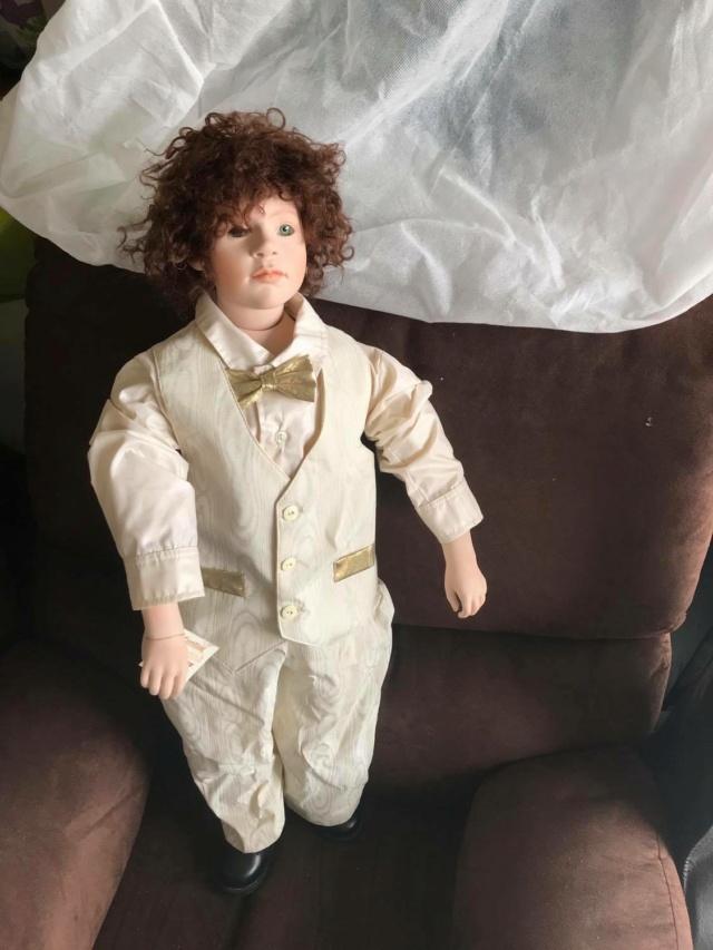 V: nombreuses poupées modernes en porcelaine - uniques Charle11