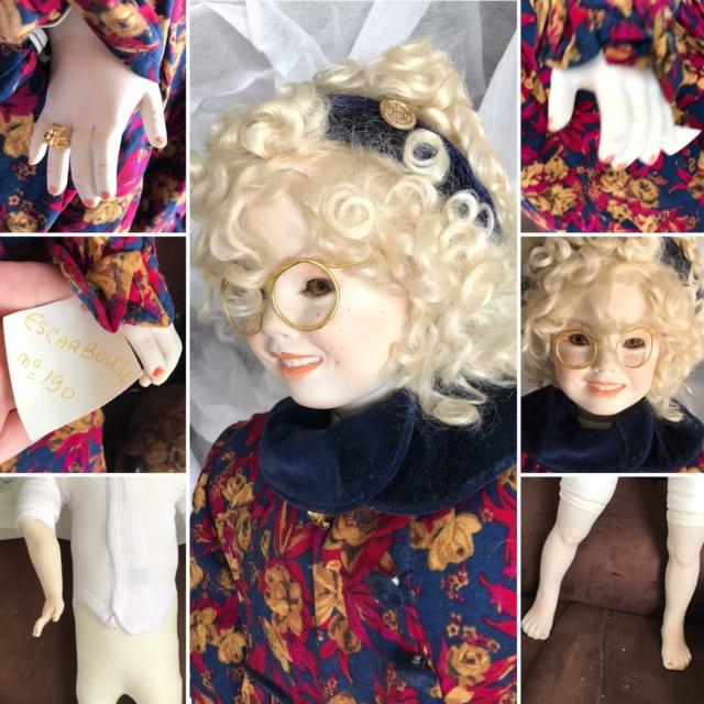 V: nombreuses poupées modernes en porcelaine - uniques Escarb10