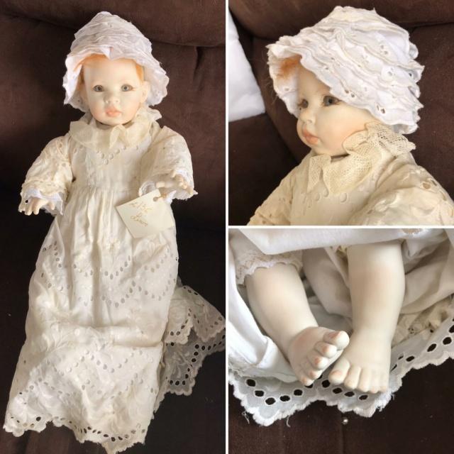 V: nombreuses poupées modernes en porcelaine - uniques Lison10