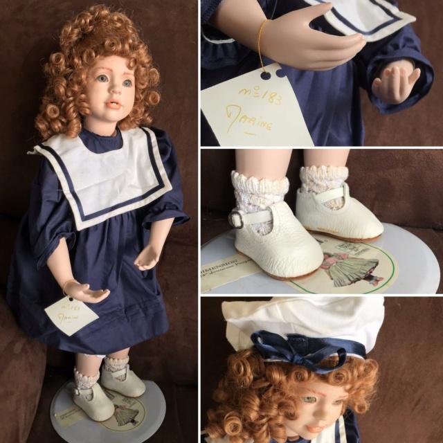 V: nombreuses poupées modernes en porcelaine - uniques Marine10