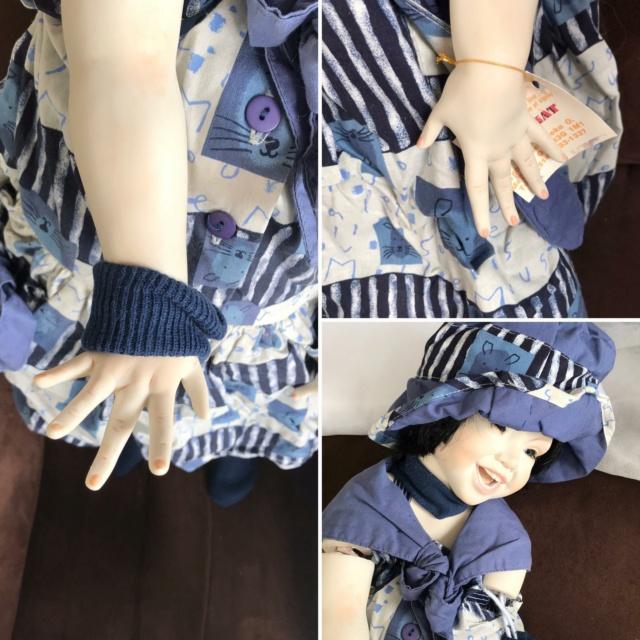 V: nombreuses poupées modernes en porcelaine - uniques Sourir11
