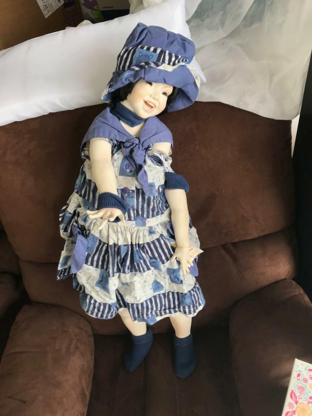 V: nombreuses poupées modernes en porcelaine - uniques Sourir12