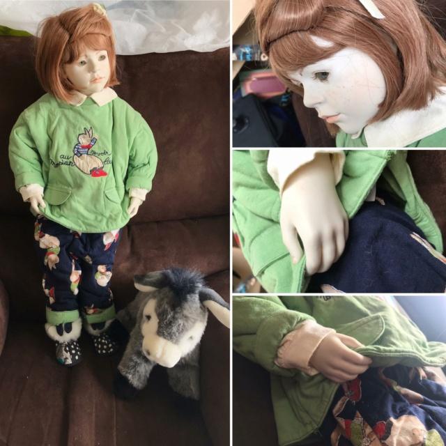 V: nombreuses poupées modernes en porcelaine - uniques Zene10