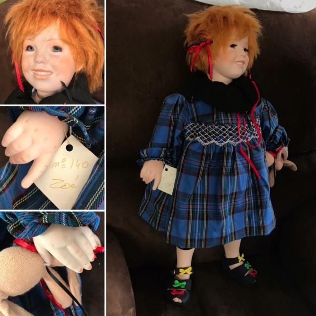 V: nombreuses poupées modernes en porcelaine - uniques Zoe10