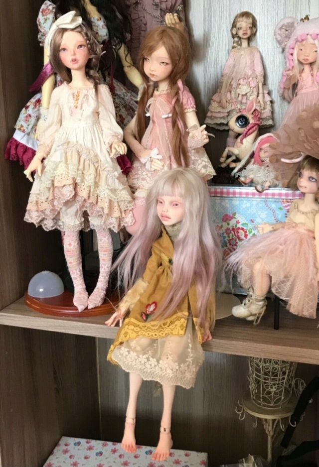 [V] Doll Chateau Iplehouse plusieurs poupées d'artiste etc. Zoya710