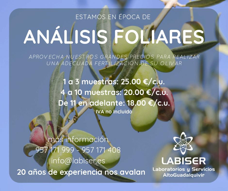 Laboratorio Análisis Foliares - LABISER (Bujalance) Anzeli10