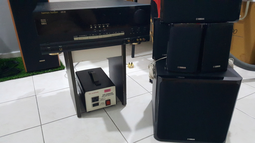 Harman Kardon AVR v 5.1 spk set - Sold 20200714
