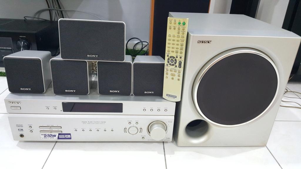 Sony 5.1 home cinema sound system. (SOLD) 20201010
