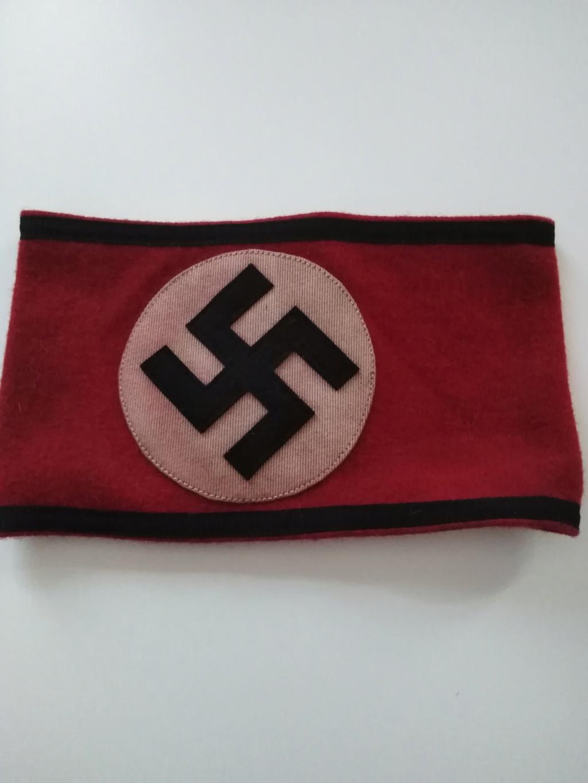 Identification brassard allemand n1 064dac10