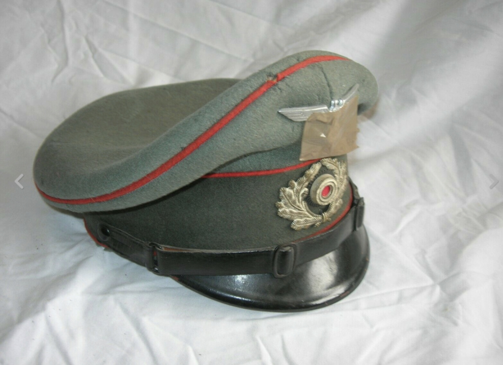 Identification casquette artilleur allemand  46e75710