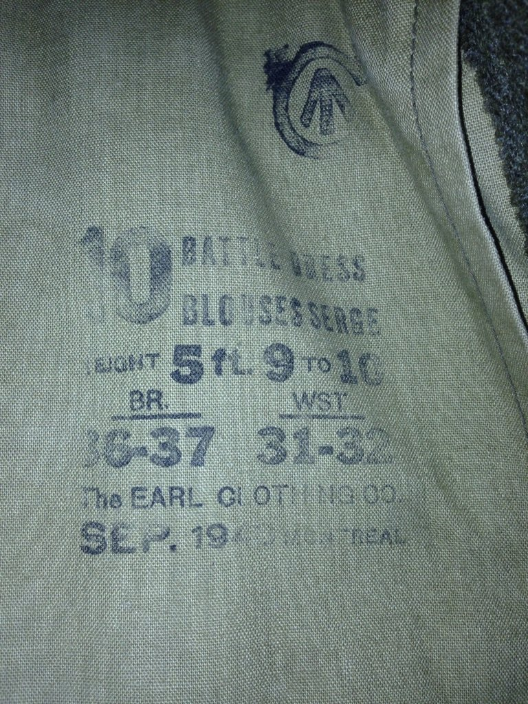 Identification Battle dress  5fd1a210