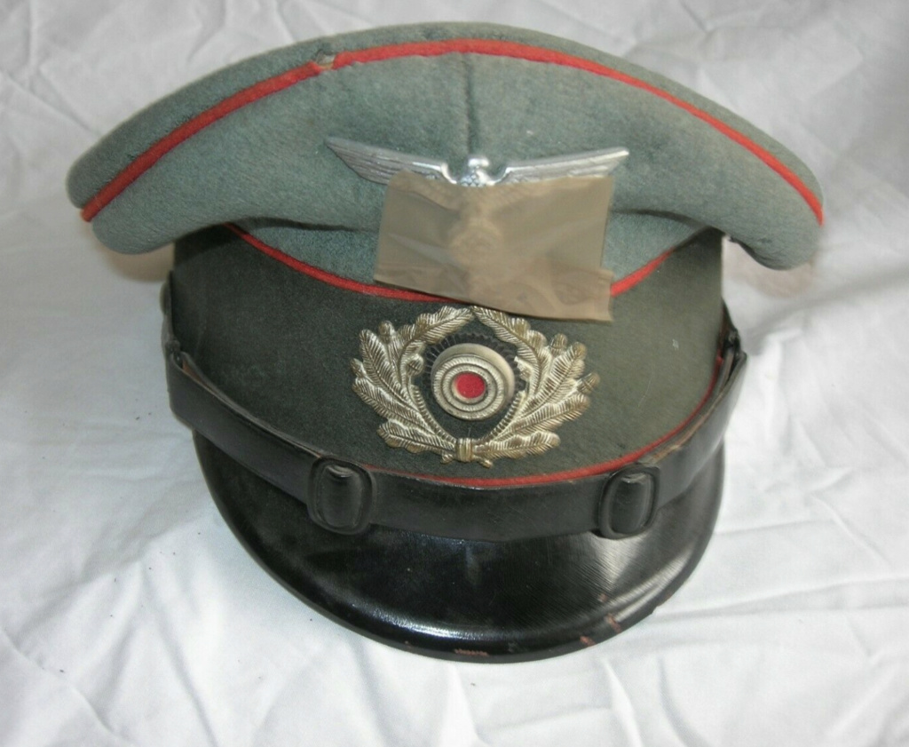 Identification casquette artilleur allemand  B7289510