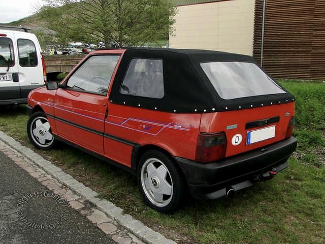 FIAT Uno Cabrio ( modello tedesco)  10935310