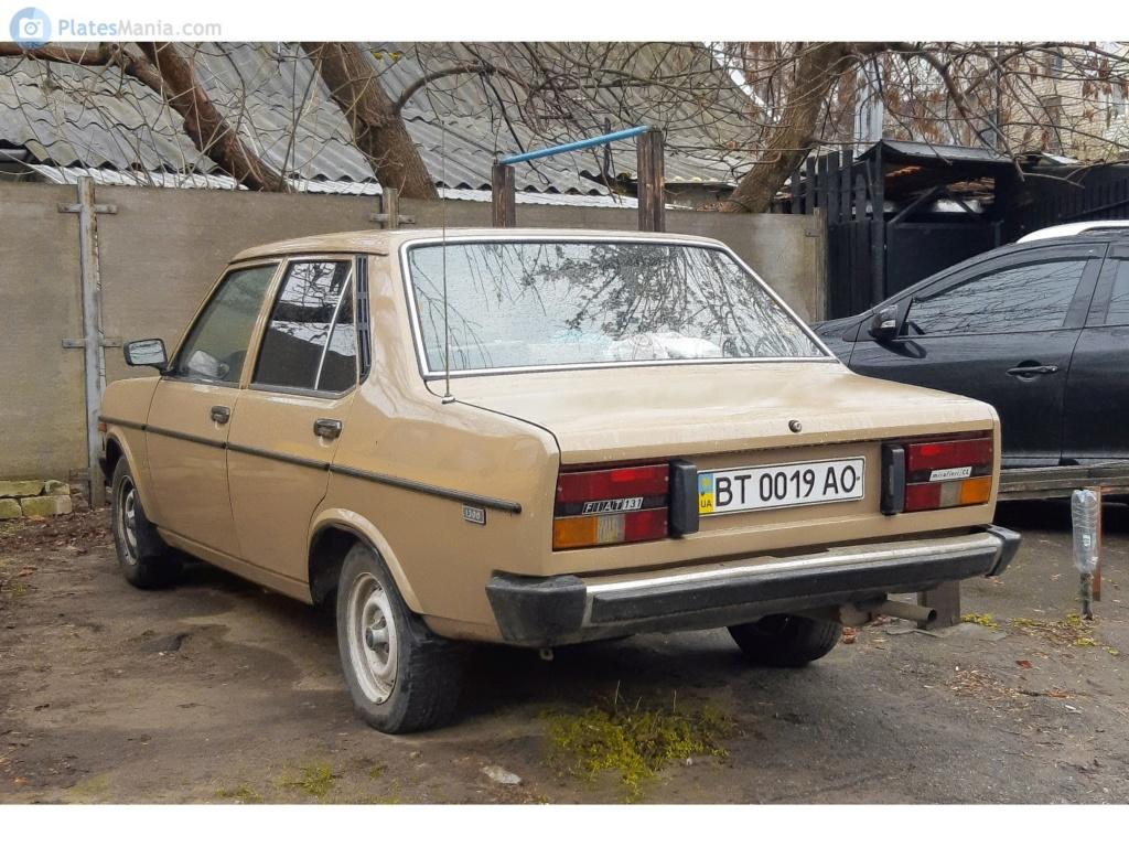 Vecchie FIAT nell'Est Europa.  3a9a7010
