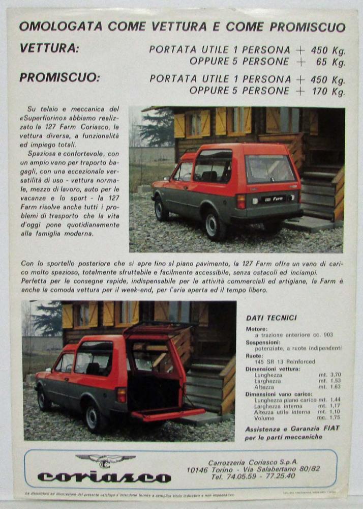 FIAT 127 Farm Coriasco  52cce710