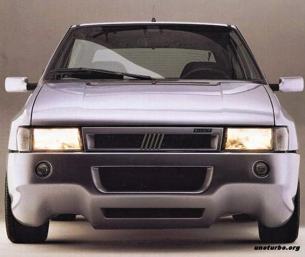 FIAT Uno Turbo I.E. «TORINO» Realizzata Da Giannini.  5666d410