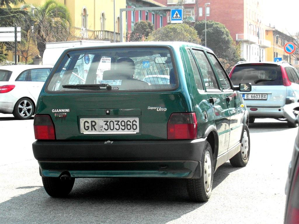 FIAT Uno Turbo I.E. «TORINO» Realizzata Da Giannini.  5748e310