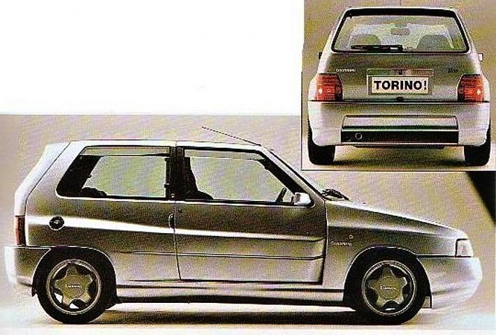FIAT Uno Turbo I.E. «TORINO» Realizzata Da Giannini.  5df3f010