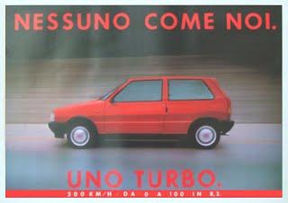 FIAT UNO TURBO 1^ SERIE 7af23b10