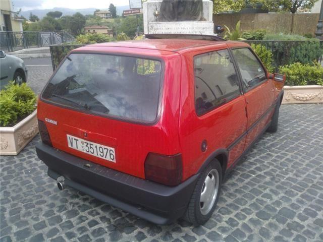 FIAT Uno Turbo I.E. «TORINO» Realizzata Da Giannini.  9493b310
