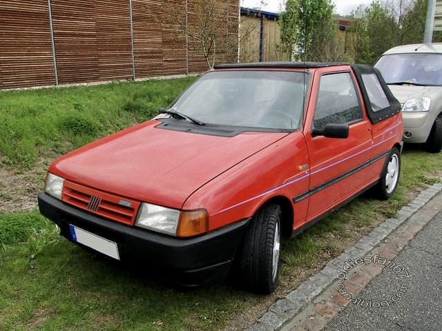 FIAT Uno Cabrio ( modello tedesco)  A84f2310