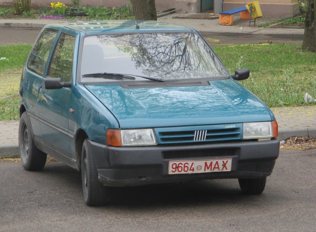 Vecchie FIAT nell'Est Europa.  Afb13610