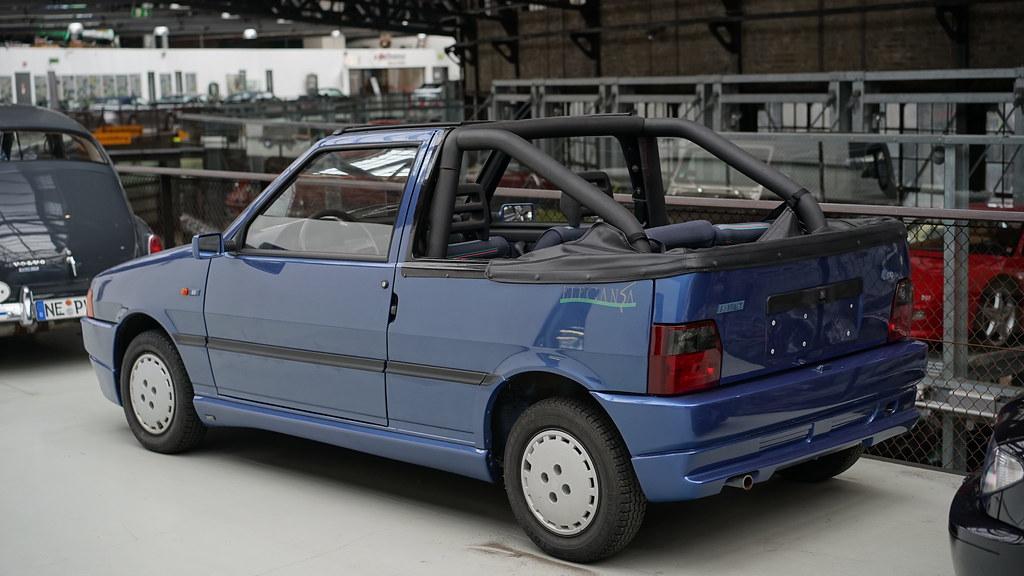 FIAT Uno Cabrio ( modello tedesco)  Dd426610